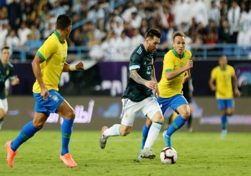 ميسي يقود الأرجنتين لانتصار ودي على البرازيل في الرياض