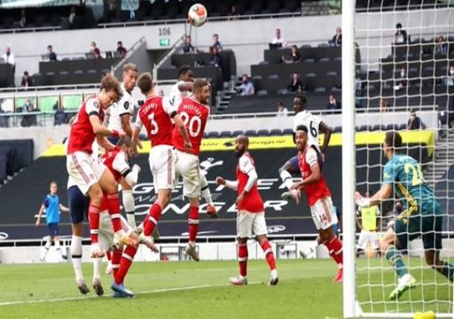 توتنهام يفوز على أرسنال ويحسم ديربي لندن في الدوري الإنجليزي