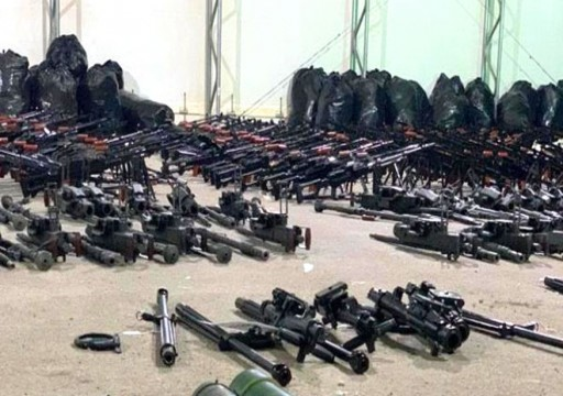 الجيش اليمني يعلن ضبط شاحنة أسلحة وذخائر غربي البلاد