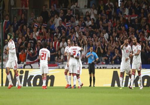 الأبيض يتربع على صدارة المجموعة الأولى ويتأهل لدور الـ16 من كأس آسيا