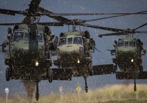الناتو: فقدان مروحية للحلف في المتوسط ناجم عن حادث