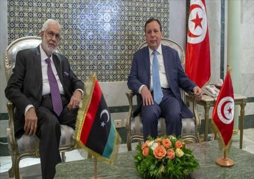 وزير خارجية تونس يبحث مع نظيره الليبي تطورات أزمة طرابلس