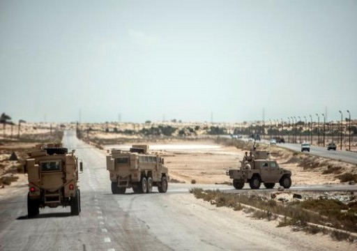 قتلى وجرحى في صفوف الجيش المصري بهجوم لتنظيم الدولة في سيناء
