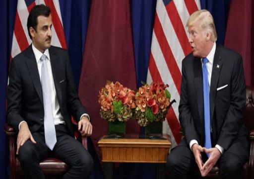أمير قطر يلتقي ترامب في واشنطن الثلاثاء المقبل