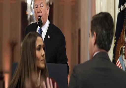 لطرده مراسلها.. CNN تقاضي ترامب و5 من مساعديه