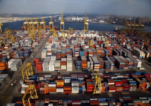 تجارة الإمارات تعاكس التباطؤ العالمي وتنمو 5%