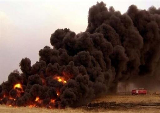 مسؤول يمني يتهم أبوظبي بالوقوف وراء تفجيرات أنبوب نفط شرقي البلاد