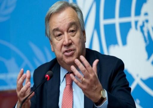 غوتيريش: أزمة كورونا هي الأسوأ عالميا منذ الحرب العالمية الثانية