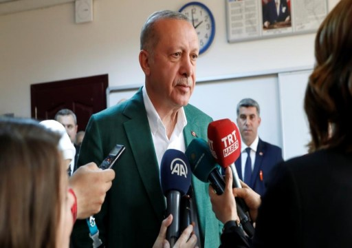 أردوغان: جرائم منظمة وقعت أثناء الانتخابات البلدية
