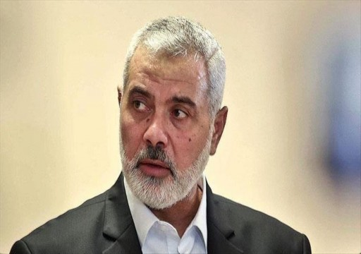 هنية: نواصل الاتصالات لإنهاء الحصار الإسرائيلي عن غزة