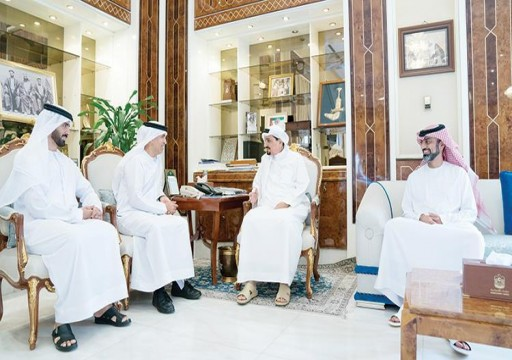 حاكم عجمان يدعو للعمل بإخلاص وتفان في خدمة المواطنين