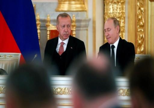 أردوغان لـبوتين: الهجمات على إدلب تهديد حقيقي للأمن التركي