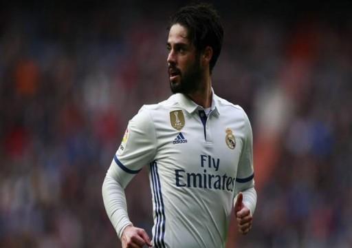 إيسكو يغيب عن قائمة ريال مدريد في مواجهة برشلونة في إياب كأس الملك