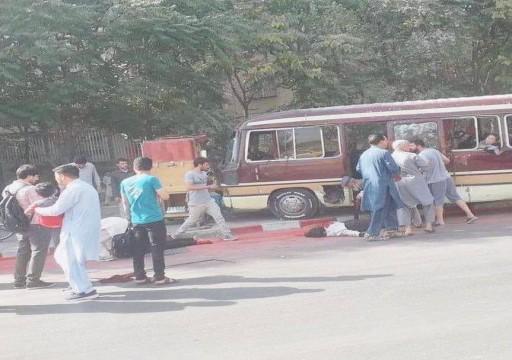32 قتيلاً في ثلاثة انفجارات هزت العاصمة الأفغانية كابول