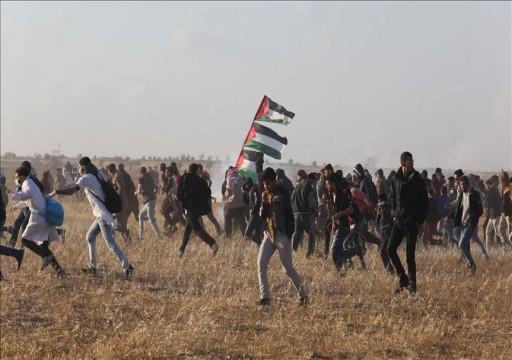 شهيد و55 جريحا برصاص الاحتلال شرقي قطاع غزة