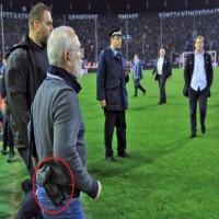 إيقاف الدوري اليوناني بسبب تهديد مالك نادي على حكم مباراة بالمسدس