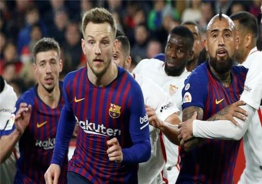 برشلونة مهدد بالإيقاف بسبب صفقة مشبوهة