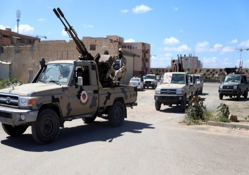 """قوات """"الوفاق"""" تعلن سيطرتها الكاملة على """"العزيزية"""" جنوبي طرابلس """