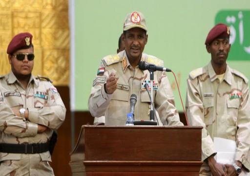 صحيفة: أبوظبي تطلب من حميدتي إرسال آلاف المرتزقة لإنقاذ حفتر