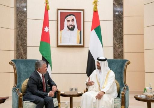 هل تحولت الامارات لوسيط بين عمّان وتل أبيب.. ملك الأردن يشيد بدبلوماسية أبوظبي؟
