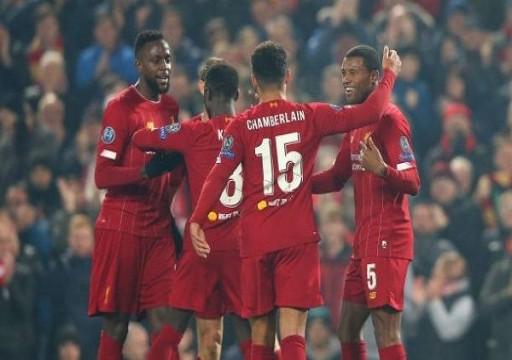 ليفربول يرتقي لقمة المجموعة الخامسة بأبطال أوروبا