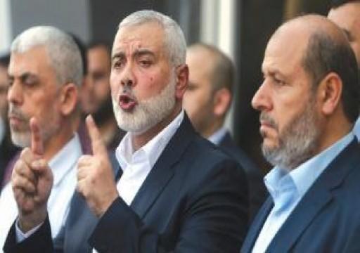 """""""حماس"""" تنفي مزاعم عقدها لقاءات مع مسؤولين إسرائيليين"""
