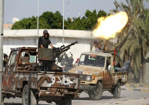 الجيش الليبي يسيطر على محور عين زارة جنوبي طرابلس