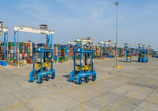 موانئ أبوظبي تحقق تقدماً لافتاً في مشروع توسعة ميناء خليفة