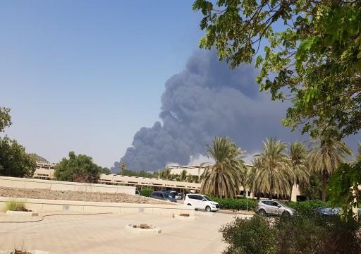 حريق ضخم في محطة قطار الحرمين بجدة ولا أنباء عن إصابات