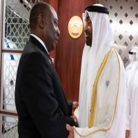 """""""رويترز"""": الإمارات تتعهد باستثمار 10 مليارات دولار في جنوب أفريقيا"""
