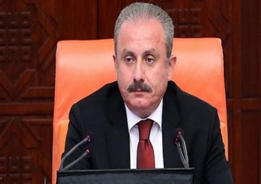 """رئيس برلمان تركيا يتهم أبوظبي بتنفيذ أجندات دول """"إمبريالية"""""""