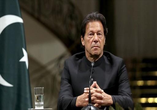 """عمران خان يهاجم الحكومة الهندية ويصفها بـ """"الفاشية"""""""