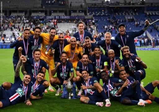سان جيرمان بطلا لكأس فرنسا وإصابة مبابي في الكاحل
