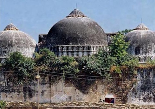 """رئيس وزراء الهند المتطرف """"مودي"""" يدشن معبدا على أنقاض مسجد البابري"""