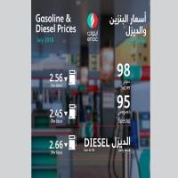 وزارة الطاقة تعلن عن أسعار الوقود لشهر يوليو