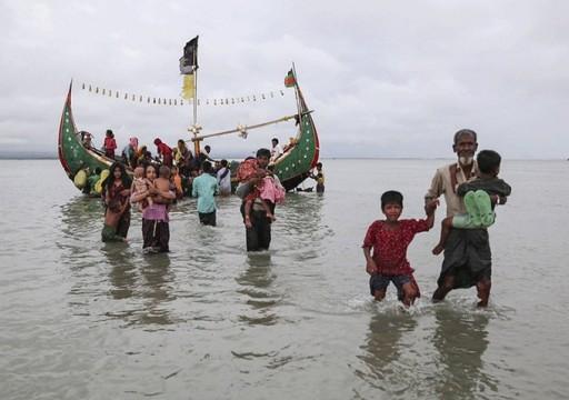 إنقاذ 119 من مسلمي الرهنغيا من الغرق بخليج البنغال