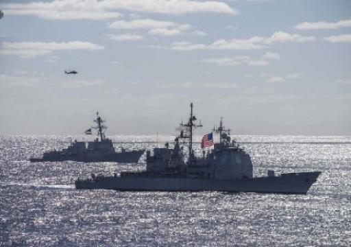 طهران تنفي احتجاز البحرية الأمريكية 4 سفن لها