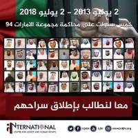 في الذكرى السنوية الخامسة لمحاكمتهم.. مطالب حقوقية بإطلاق سراح معتقلي الرأي