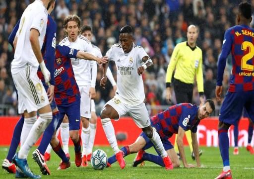 الدوري الإسباني: ريال مدريد يعود بقوة إلى المنافسة ويواصل مطاردة برشلونة صاحب الصدارة