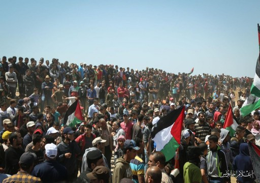 إصابة 65 فلسطينياً  في مسيرات العودة شرقي غزة