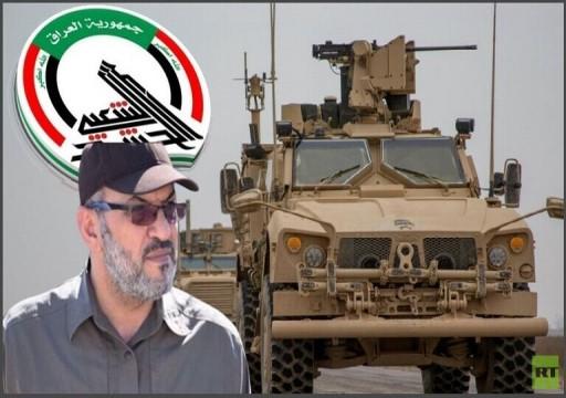 قائد بـالحشد الشعبي يتوعد بحصار سفارة الإمارات في بغداد