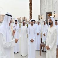 محمد بن راشد يستقبل في دبي كبار المسؤولين في الدولة