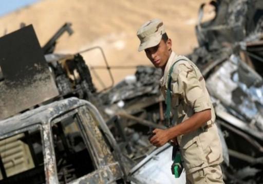 تنظيم الدولة يعلن مسؤوليته عن هجوم على عسكريين مصريين بسيناء