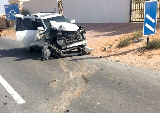 وفاة مواطنة وإصابة شقيقتها في تدهور مركبتهما جنوبي رأس الخيمة
