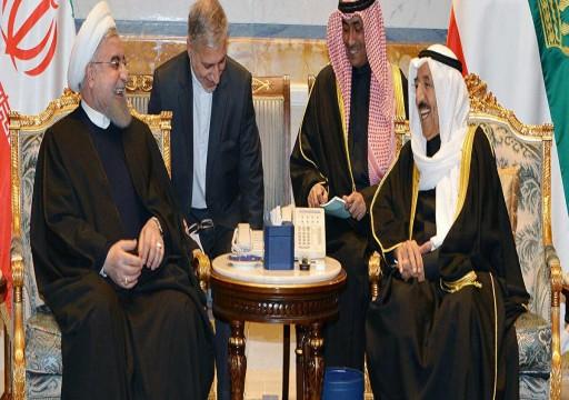 أمير الكويت يبحث مع الرئيس الإيراني الحوار مع الخليج