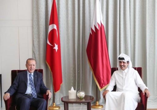 أمير قطر: الإرث الحضاري بين العرب وتركيا أسس لتنمية منطقتنا