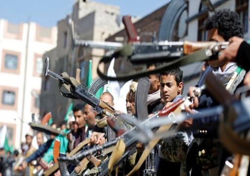 """الحوثي يدين رفع اسم السعودية من القائمة الأممية """"السوداء"""""""