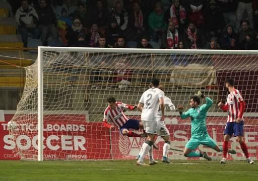 خروج مفاجئ لأتليتيكو من كأس ملك إسبانيا امام ليونيسا المغمور
