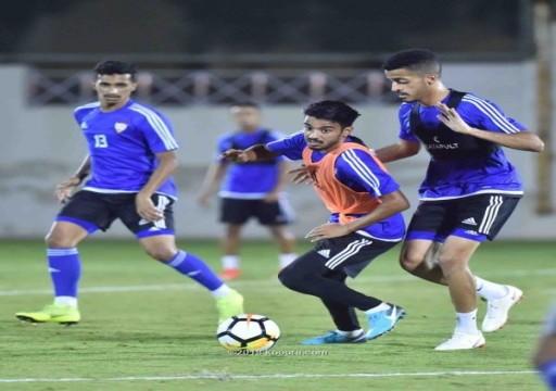 مساء اليوم.. الأبيض الأولمبي يواجه الكويت في افتتاح البطولة الدولية