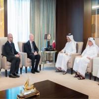 غزة على طاولة مباحثات قطرية أمريكية
